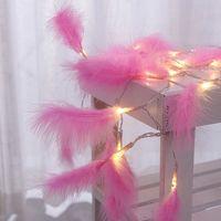 """Гирлянда """"Волшебные перья"""" (10 лампочек; арт. KW032-000045)"""