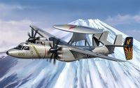 """Палубный самолет """"E2-C Hawkeye"""" (масштаб: 1/48)"""