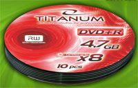 Диск DVD+R 4.7Gb 8x Esperanza Titanum Bulk 10