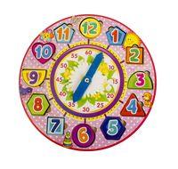 """Деревянная игрушка """"Часы-вкладыши 4"""""""