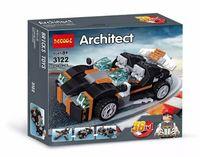 """Конструктор """"Architect. Транспорт 36 в 1"""" (256 деталей)"""