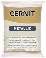 """Глина полимерная """"CERNIT Metallic"""" (античное золото; 56 г)"""