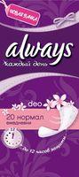 Ежедневные прокладки ALWAYS Normal Deo Single (20 шт)