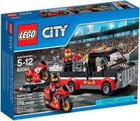 """LEGO City """"Перевозчик гоночных мотоциклов"""""""