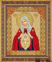 """Вышивка бисером """"Пресвятая Богородица в родах помощница"""""""