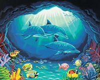 """Картина по номерам """"Подводный рай"""" (410х510 мм; арт. 91302-DMS)"""