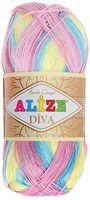 ALIZE. Diva Batik Design №5953 (100 г; 350 м)