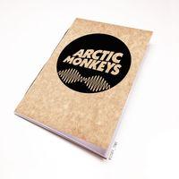 "Блокнот крафт ""Arctic Monkeys"" А7 (арт. 065)"