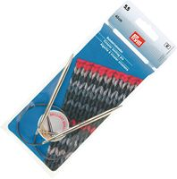 Спицы круговые для вязания (латунь; 5,5 мм; 40 см)