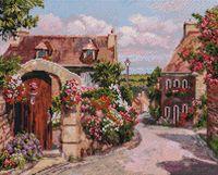 "Алмазная вышивка-мозаика ""Франция. Локронан"" (400х500 мм)"