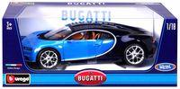 """Модель машины """"Bburago. Bugatti Chiron"""" (масштаб: 1/18)"""