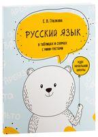 Русский язык в таблицах и схемах с мини-тестами. Курс начальной школы