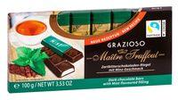"Шоколад темный ""Grazioso. Mint"" (100 г)"