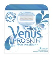 Кассета для станков для бритья Gillette Venus Proskin Moisturerich (4 шт)