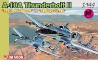 "Набор самолетов ""A-10A Thunderbolt II Flying Yankees & Flying Tigers"" (масштаб: 1/144)"