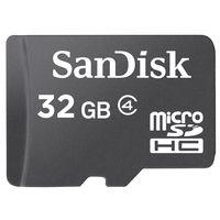 Карта памяти micro SDHC 32Gb SanDisk Class 4 (без адаптера)
