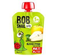 """Пюре детское """"Bob Snail. Яблоко-груша"""" (90 г)"""