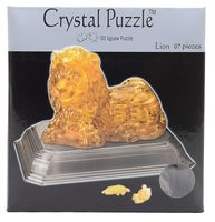 "Пазл-головоломка ""Crystal Puzzle. Лев"" (97 элементов)"