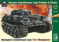 "Немецкий огнеметный танк Т-II ""Фламинго"" (масштаб: 1/35)"