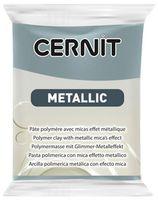 """Глина полимерная """"CERNIT Metallic"""" (сталь; 56 г)"""