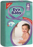 """Подгузники """"Evy Baby Maxi 4"""" (7-18 кг; 64 шт.)"""