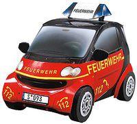 """Сборная модель из бумаги """"Smart ForTwo. Пожарный"""" (масштаб: 1/24)"""