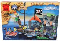 """Конструктор """"Pirates. Бухта пиратов"""" (196 деталей)"""