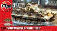 """Тяжелый танк """"Pzkw VI Ausf.B King Tiger"""" (масштаб: 1/76)"""