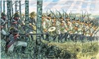 "Набор миниатюр ""Австрийская армия 1798-1805"" (масштаб: 1/72)"