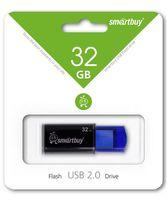 USB Flash Drive 32Gb SmartBuy Click (Blue)