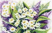 """Вышивка крестом """"Полевые цветы"""""""