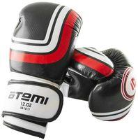 Перчатки боксёрские LTB-16111 (L/XL; чёрные; 12 унций)