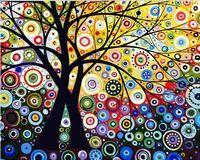 "Картина по номерам ""Денежное дерево"" (500х650 мм)"
