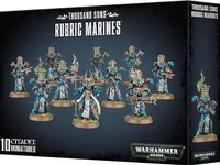 Warhammer 40.000. Thousand Sons. Rubric Marines (43-35)