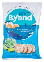 """Чипсы рисовые """"B.Yond. Со вкусом гавайской морской соли, перца и лайма"""" (70 г)"""