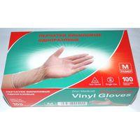 Перчатки одноразовые виниловые (М; 50 пар)