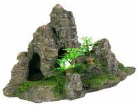 """Декорация для аквариума """"Гора с растениями"""" (22 см., арт. 8853)"""