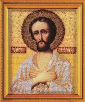 """Вышивка бисером """"Святой Алексий Человек Божий"""""""