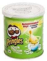 """Чипсы картофельные """"Pringles. Сметана и лук"""" (40 г)"""