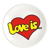 """Тарелка """"Love is"""" (арт. 894)"""