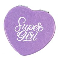 """Зеркало карманное """"Super girl"""""""