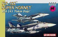 """Набор самолетов """"F/A-18E Super Hornet VFA-143"""" (масштаб: 1/144)"""
