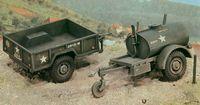 "Аксессуары ""250 gal.s Tank Trailer - M101 Cargo Trailer"" (масштаб: 1/35)"