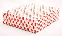 "Подарочная коробка ""Lions Rampant"" (16,5х20х5 см; красные элементы)"