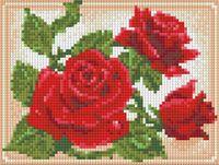 """Алмазная вышивка-мозаика """"Молодая роза"""" (200х150 мм)"""