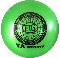 Мяч для художественной гимнастики RGB-101 (15 см; зелёный)