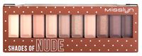 "Палетка теней для век ""Must have eyeshadow shades"" (тон: 4)"