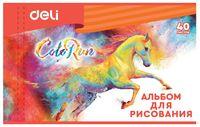 """Альбом для рисования """"ColoRun"""" (А4; 40 листов)"""