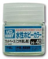 Краска Aqueous Hobby Color водоразбавляемая (flat base, H-40)
