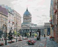 "Картина по номерам ""Малая Конюшенная улица"" (400х500 мм)"